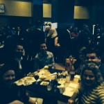 DANA Members enjoying delicious food from Liberty Tavern, along with great company!