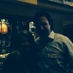 DANA Member Lindsey Strobel with Google Fiber Rep and DANA Sponsor Evan Vandarwarka