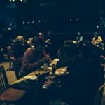 DANA Members enjoying the food and atmosphere