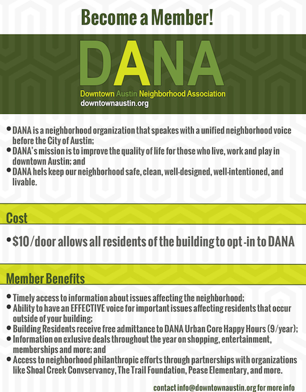 DANA Building Member One Pager